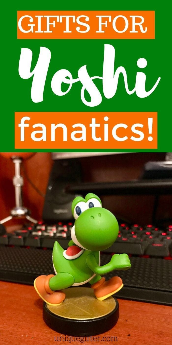 Gift Ideas for Yoshi Lovers | Yoshi Lovers Presents | Unique Gifts For Yoshi Lovers | #gifts #giftguide #presents #yoshilovers #creative #uniquegifter