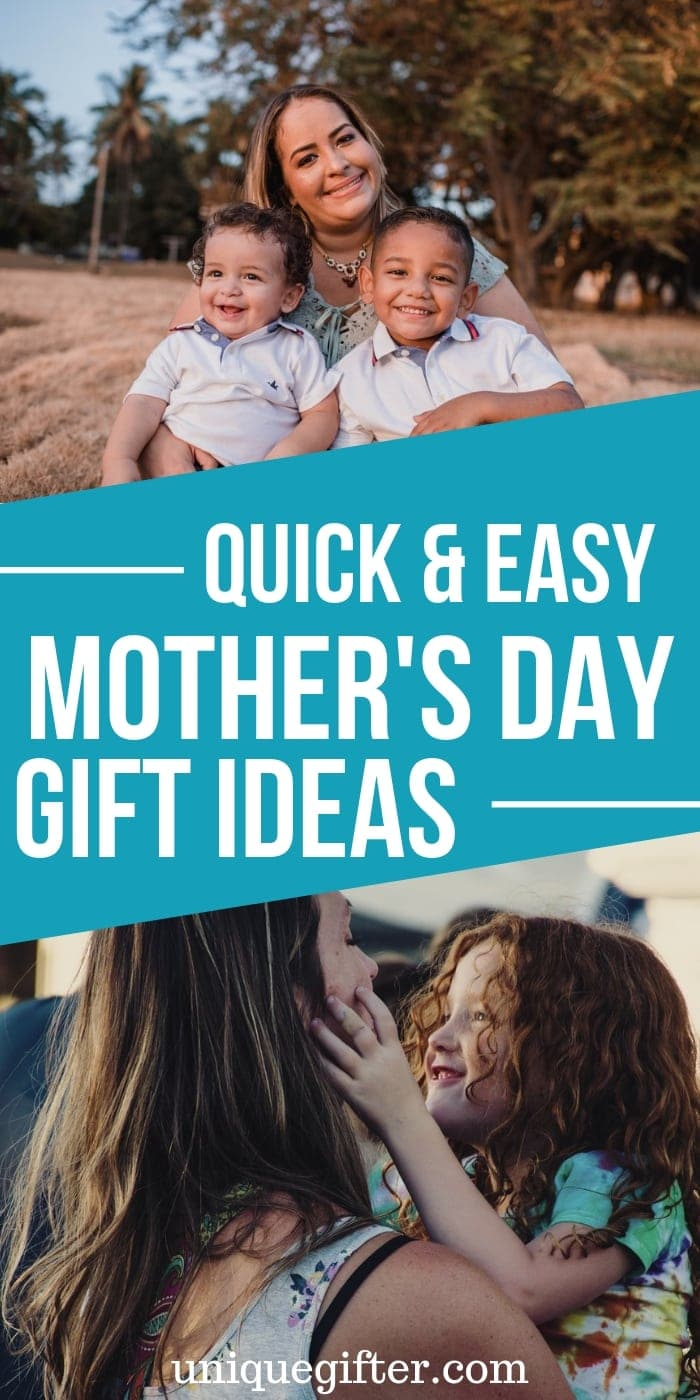 Quick & Easy Mother's Day Gift Ideas | Mother's Day | Unique Mother's Day Gifts | Creative Mother's Day Gifts | #gifts #mothersday #mom #special #easy #simple #unique #creative #uniquegifter.com