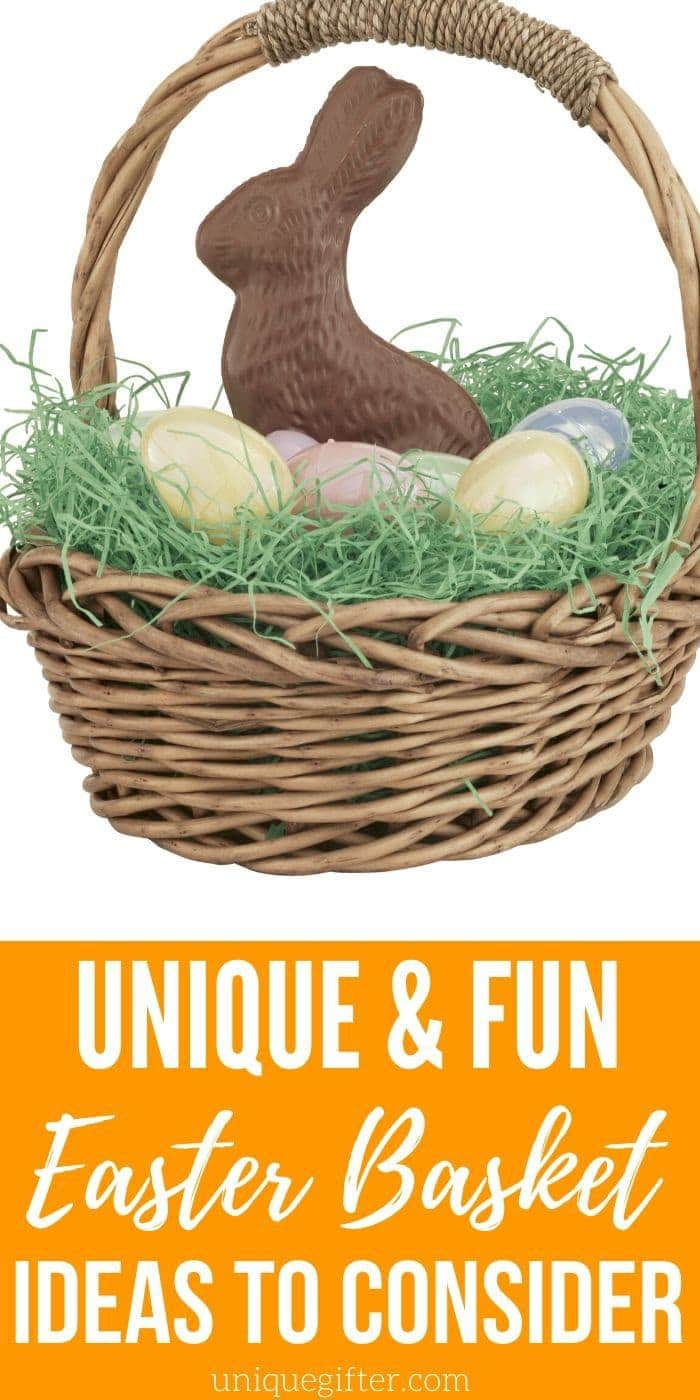 Fun and Unique Easter Basket Ideas | Easter Baskets | Creative Easter Basket Ideas | Unique Easter Baskets | #easter #unique #fun #creative #basket #holiday #uniquegifter