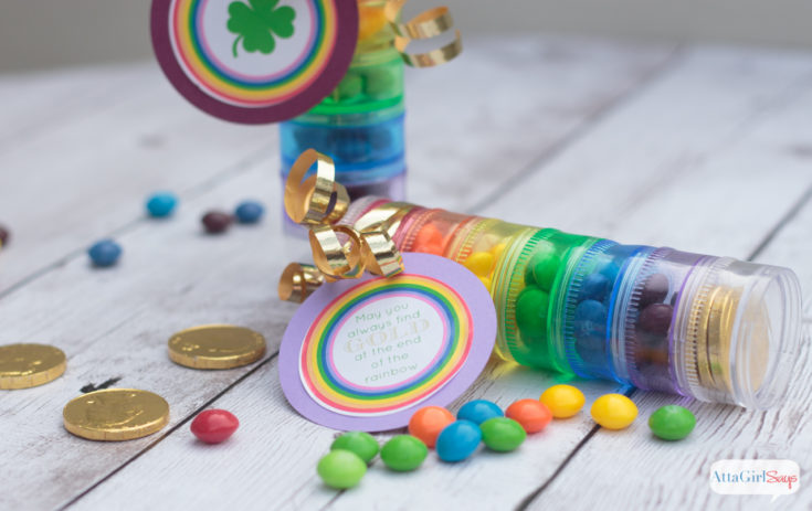 St. Patrick's Day Rainbow Candy Party Favors
