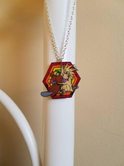 Angry Beavers Necklace