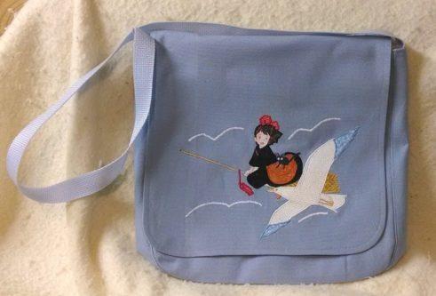 Applique Delivery Bag