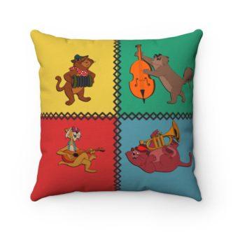 Aristocats Band Singers Pillow