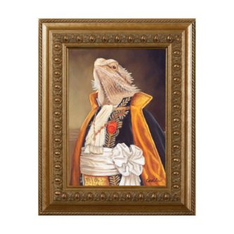 Aristocratic Bearded Dragon Magnet
