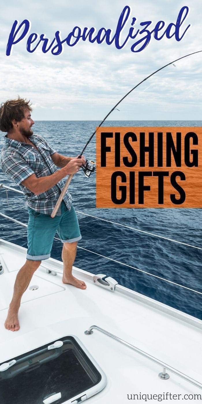 Best Personalized Fishing Gifts | Fisherman Gift Ideas | Thoughtful Gifts For Someone Who Loves To Fish | Fishing Gift Ideas | #gifts #giftguide #presents #fisherman #fishing #uniquegifter