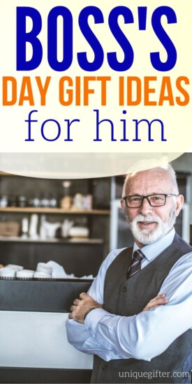 Boss's Day Gift Ideas for Him PIN