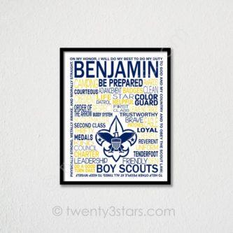Boy Scouts Poster