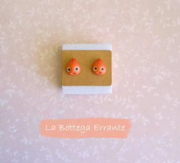 Calcifer Earrings