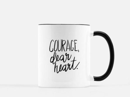 Courage, Dear Heart Coffee Mug