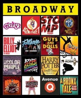 They'll feel snug as a bug in a rug with this gift ideas for a broadway/musical theatre lover.