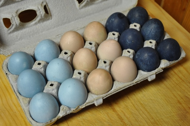 How to Naturally Dye Easter Eggs with Real Food