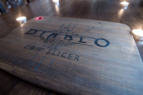 Diablo III Cutting Board