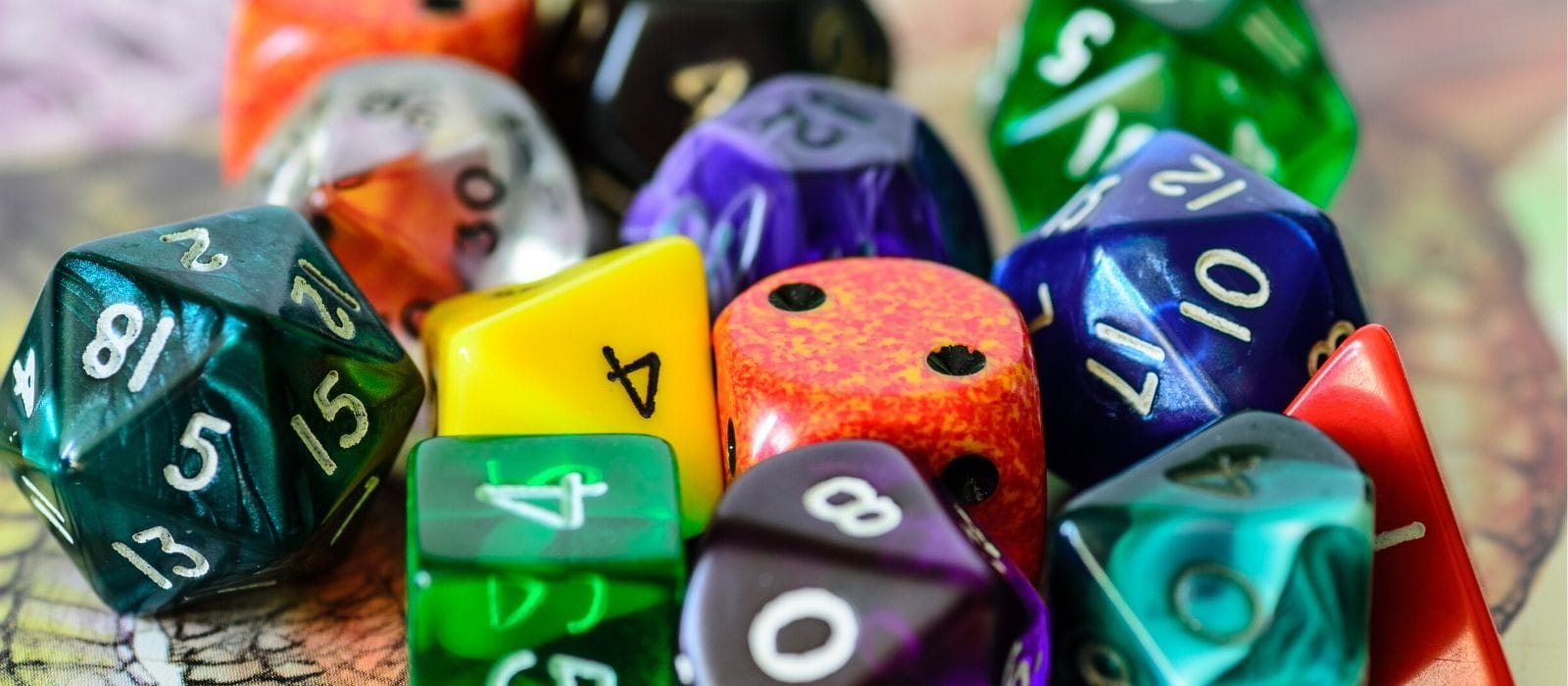 Dice Refrigerator magnet DND D20 Choose Your Color 20 sided