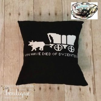 Dysentery Pillow