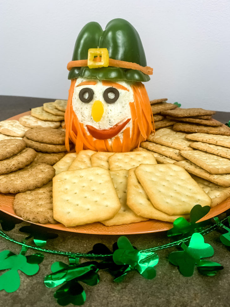 St. Patrick's Day Leprechaun Cheeseball