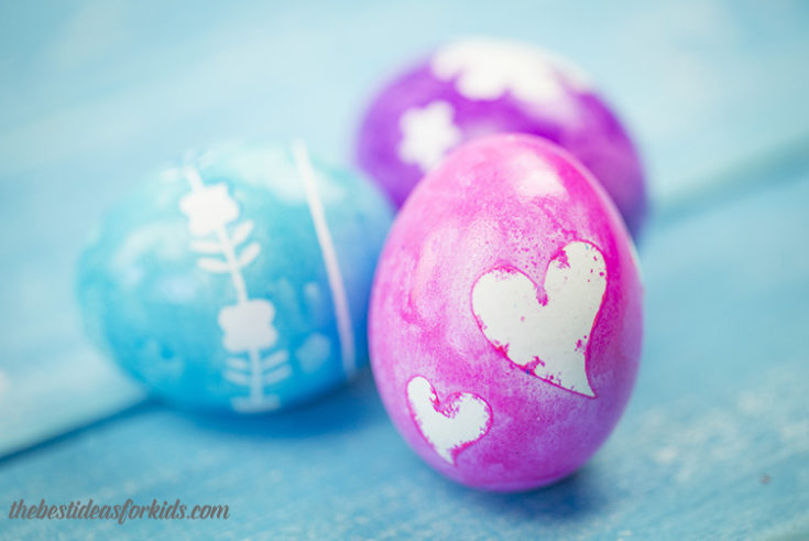 How to Make Silhouette Easter Eggs