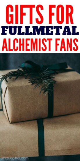 Best Fantastic Fullmetal Alchemist Gifts | Awesome Gifts | Creative Gifts For Any Occasion | Terrific Presents For Fullmetal Alchemist | #gifts #giftguide #presents #fullmetal #uniquegifter