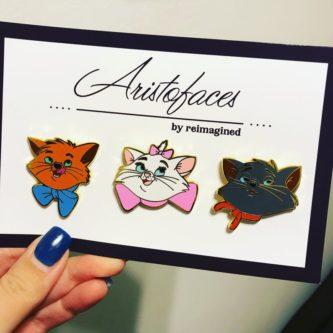 Fantasy Aristocats Mini Pin Set