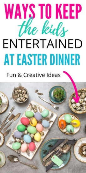 Fun Ways to Keep the Kids Entertained at Easter Dinner | Easter Entertainment For Kids | Kids Ideas For Easter | Creative Easter Tips To Keep Kids Entertained | #easter #kids #party #entertainment #creative #fun #uniquegifter