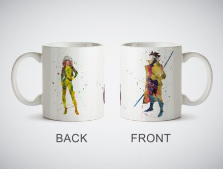 Gambit And Rogue Coffee Cup