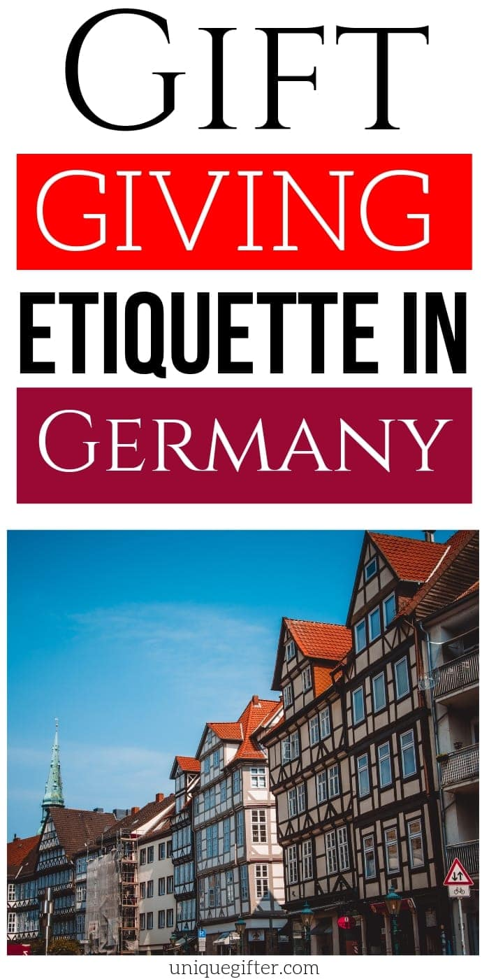 Gift Giving Etiquette in Germany | Germany Gift Giving Tips | Guide For Gift Giving In Russia | Helpful Gift Giving Guide | #gifts #giftguide #germany #presents #etiquette #uniquegifter