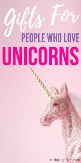 Best Gift Ideas For Someone Obsessed With Unicorns | Unicorn Gifts For Adults | Gifts For People Who Love Unicorns | #gifts #giftguide #unicorn #best #uniquegifter