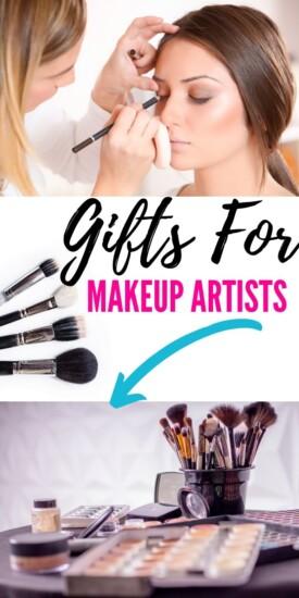 Best Gift Ideas For Your Favorite Makeup Artist | Thank You Gifts For Makeup Artist | Gifts For Beautician | Creative Makeup Artist Gift Ideas | #gifts #giftguide #presents #makeup #makeupartist #uniquegifter