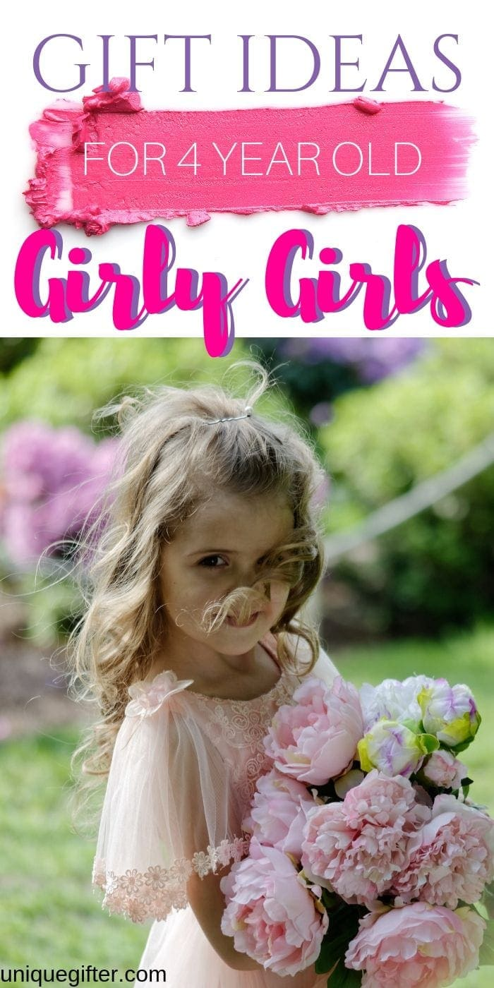 Gift Ideas for 4 Year Old Girly Girls | Gifts For Girls Who Love Glitter | Gifts For Little Girls | Girl Gifts They Will Go Crazy For | #gifts #giftguide #girl #girly #uniquegifter
