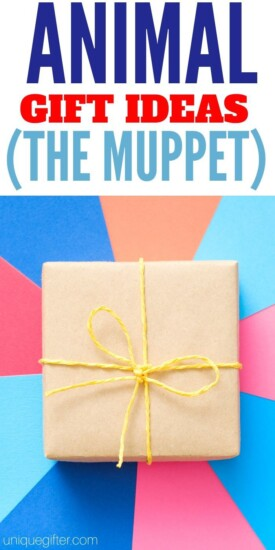 Best Gift Ideas for Animal The Muppets   Gifts For Muppet Fans   Gifts For People Who Love The Animal   Creative Muppets Gifts   #gifts #giftguide #presents #muppets #animal #uniquegifter