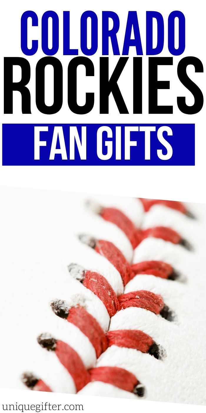 Best Gift Ideas for Colorado Rockies Fan | Rockies Fan Gift Ideas | Presents For People Who Love The Colorado Rockies | #gits #giftguide #presents #baseball #colorado #rockies #uniquegifter