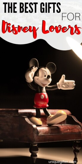 Best Gift Ideas for Disney Lovers | Disney Gifts | Disney Fan Presents | Cool Gifts For Disney Fans | Presents For People Obsessed With Disney | #gifts #giftguide #presents #disney #uniquegifter