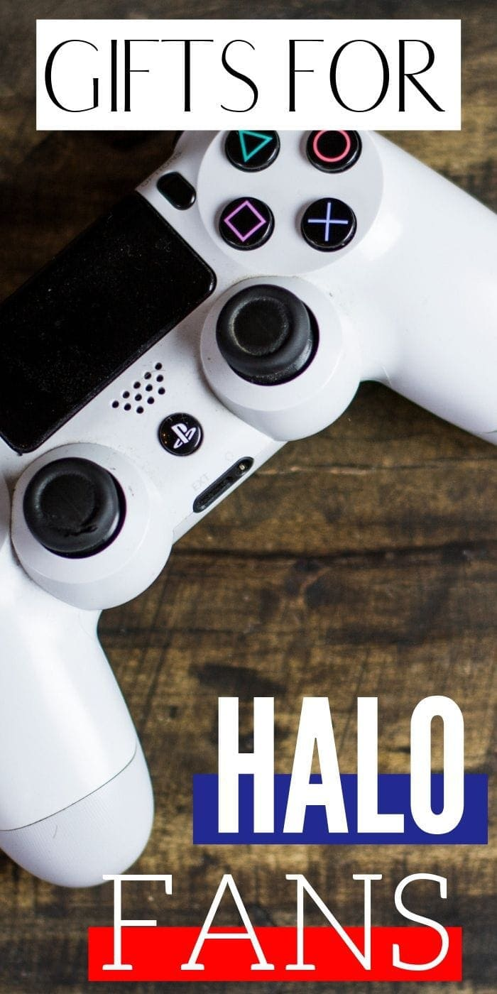Best Gift Ideas for Halo Fans   Halo Fan Gift Ideas   Presents For People Who Love To Play Halo   Halo Presents For Fanatics   #gifts #giftguide #presents #creative #halo #game #uniquegifter