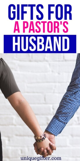 Gift Ideas for a Pastor's Husband