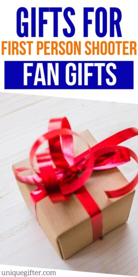 Best Gifts For First-Person Shooter Fans | Shooter Fan Gifts | Creative First-Person Shooter Fans | #gifts #giftguide #shooter #firstperson #uniquegifter