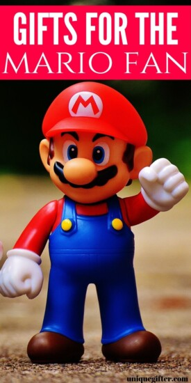 Best Gifts For The Ultimate Mario Fan | Gifts For People Who Love Mario | Awesome Mario Presents | Terrific Gifts For Mario Fans | #gifts #giftguide #mario #best #presents #uniquegifter