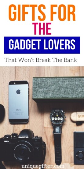 Best Gifts for a Gadget Lover | Gifts For Gadget Fans | People Who Love Gadgets Will Go Wild For These Presents | Gifts For Gadget Lovers That Are Inexpensive | #gifts #giftuide #gadgets #creative #uniquegifter
