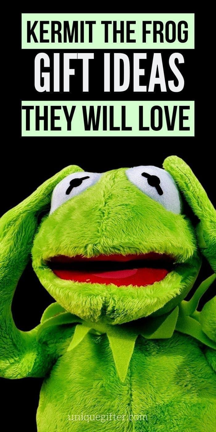 Best Gifts for Kermit the Frog Fans | Muppet Fan Gifts | Creative Gifts For Kermit The Frog Fanantics | Gifts For Muppet Lovers | #gifts #giftguide #presents #muppets #kermit #creative #uniquegifter