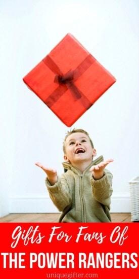 Gifts For Power Rangers Fans | Power Ranger Gift Ideas | Gifts For Power Ranger Fans | Power Ranger Presents | #gifts #giftguide #presents #powerranger #uniquegifter