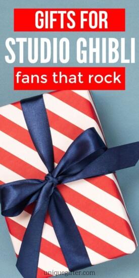 Best Gifts for Studio Ghibli Fans | Creative Gifts For Studio Ghibli Fans | Fans Are Going to Love These Studio Ghibli Gifts | #gifts #giftguides #creative #presents #uniquegifter