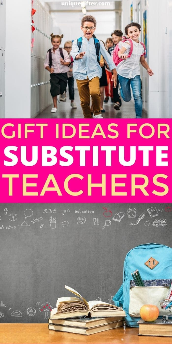 Best Gifts for Substitute Teachers | Gifts For Teachers | Creative Substitute Teacher Presents | Fantastic Gifts For Substitute Teachers | #gifts #giftguide #presents #teachers #substitute #uniquegifter