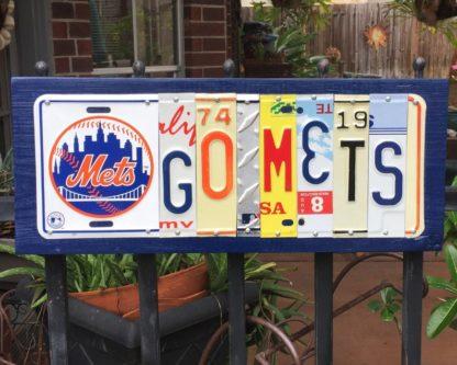 Go Mets liscense plate