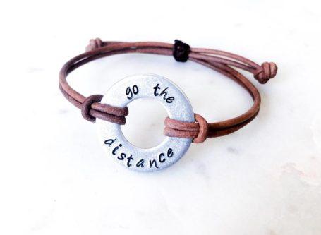 Go the Distance Bracelet