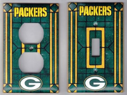 Packers lightswitch cover