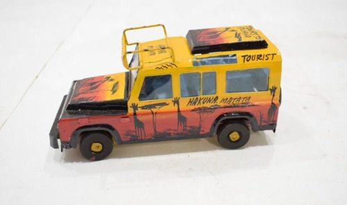 Handmade Model Safari Truck