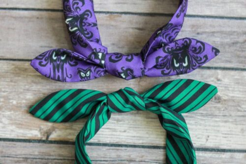 Haunted Mansion Bow Bands