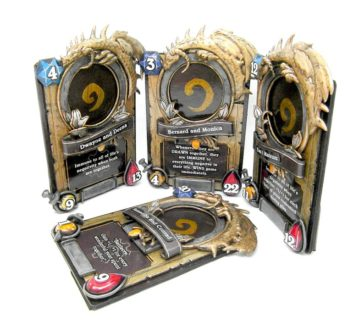 Hearthstone Card Picture Frame