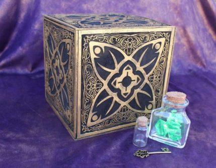Horadric Cube Jewelry Box (Diablo)