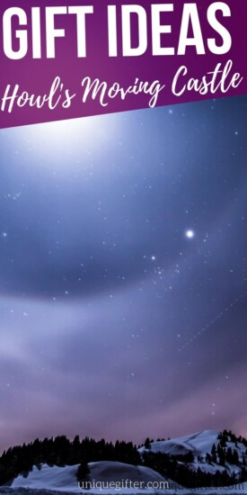 Howl's Moving Castle | Howl's Moving Castle Gifts | Anime Gifts | Anime Movie Gift Ideas | Gift Ideas for Anime fans | Studio Ghibli Anime Movie Gift Ideas | Ghibli Fan Gifts | Hayao Miyazaki Fan Gift Ideas | #miyazaki #howlsmovingcastle #anime #ghibli #studioghibli