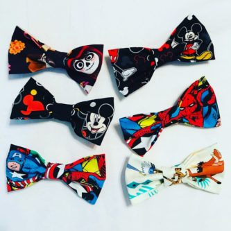 Incredibles Clip on Bow Tie