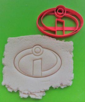 Incredibles Logo Cookie Cutter